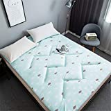 Antideslizante Impresión Estera de colchón Japonés Tradicional Plegable Tatami Colchón Engrosamiento Comodo Colchón Futón Yoga Acampar Estera portátil No encogerseD-150x200cm(59x79inch)