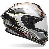 7069628 - Bell Race Star Triton Motorcycle Helmet M Black Silver