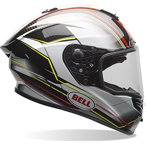 7069627 - Bell Race Star Triton Motorcycle Helmet S Black Silver