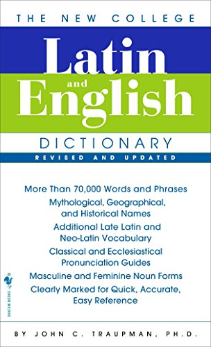 The New College Latin & English Dictionary, Revised and Updated (The Bantam New College Dictionary)の詳細を見る