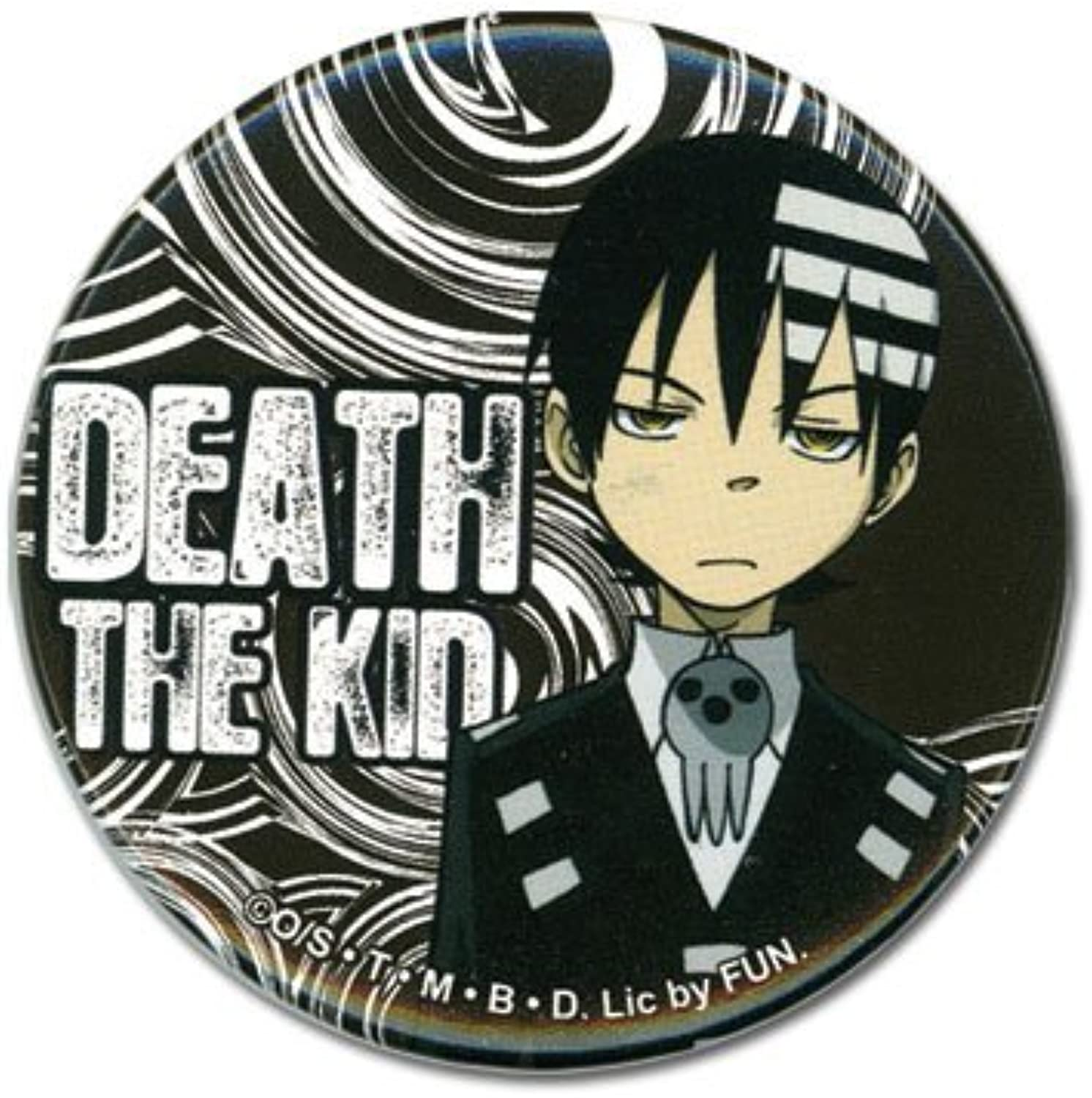 Great Eastern Entertainment Soul Eater Death The Kid Button by Great Eastern Entertainment