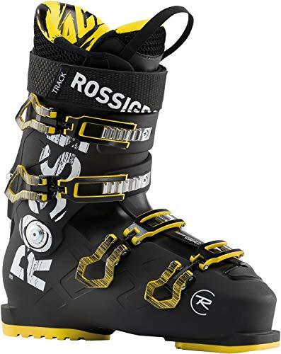 Rossignol Track 90 Ski Boots Mens Sz 10 (28) Black/Yellow