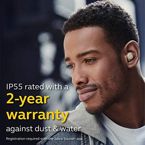 Jabra Elite 75t Earbuds, True Wireless Earbuds