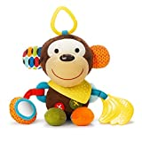 Skip Hop Bandana Buddies Baby Activity and Teething Toy with Multi-Sensory Rattle and Textures,...