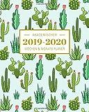2019-2020 Akademischer Wochen- und Monatsplaner Cactus Kaktus: Terminkalender Organizer, Studienplaner und Notizbuch mit inspirierenden Zitaten ... Juli 2020 (Planer Organizer, Band 7) - Planer Ink