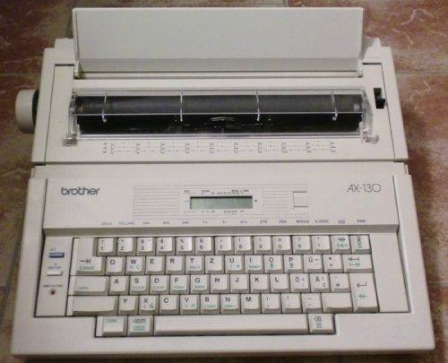 Brother AX-130 Elektrische Schreibmaschine