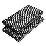 Filtro de aire de cabina, juego de filtro de aire de cabina 2 piezas para E60 528i 535i 535xi 545i 550i 650i M5 M6