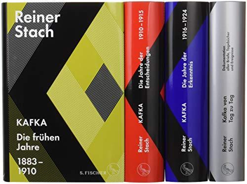 Die Kafka-Biographie in drei Bänden: Limitierte Gesamtausgabe im Schuber. Mit dem Zusatzband »Kafka von Tag zu Tag. Dokumentation aller Briefe, ... und einem historischen Stadtplan von Prag