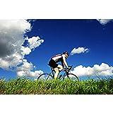 DENGZ Bicicleta Serie de Deportes Extremos Rompecabezas de Madera 500-6000 Piezas Alta dificultad Adulto Niño Juguete de desafío de descompresión Intelectual (Color : Partition, Size : 5000 pcs)