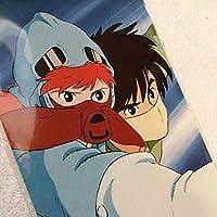 34年前の 風の谷のナウシカ ポストカード スタジオジブリ カード原画.セル画コレクターの方に 宮崎駿W