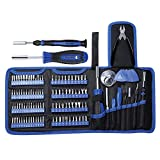 Kingsdun Precision Screwdriver Set, 118pcs Repair Tool Kit with Magnetic Multi-Bit Nut Drivers for Repair Phone, iPhone, iPad, Watch, Tablet, PC, Eyeglass, Macbook, Computer, Xbox, Small Electronics