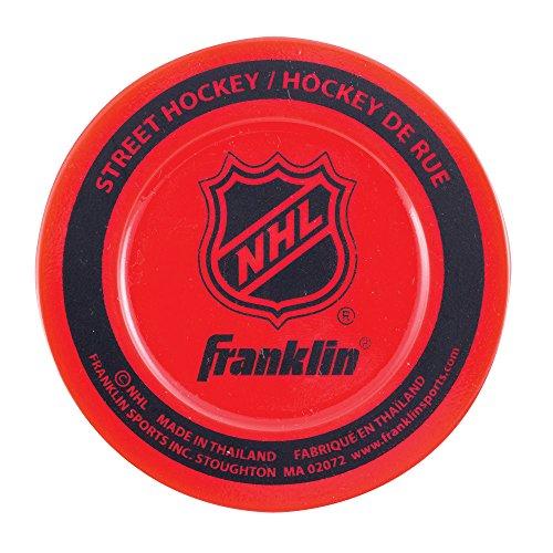 Franklin Sports Street Hockey Puck – NHL – Farben können variieren