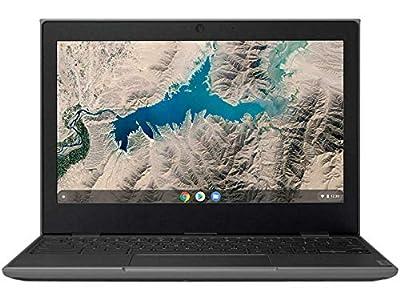 "Lenovo 100E Chromebook 2ND Gen 81QB000AUS Laptop Computer, 11.6"" HD (1366 X 768) Display, MediaTek MT8173C Processor, 4GB RAM, 16GB eMMC TLC SSD, Powervr GX6250, Chrome OS, Black"