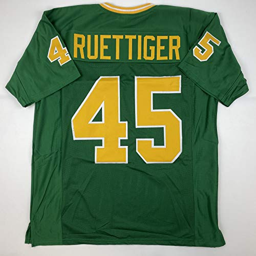 Unsigned Rudy Ruettiger Notre Dame Green Custom Stitched College Football Jersey Size Men's XL New No Brands/Logos