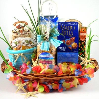 Gift Basket Village The Big Kahuna Tropical Gift Basket for a Taste of the Tropics
