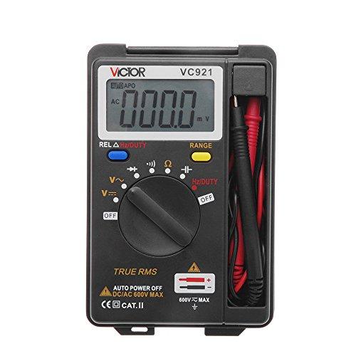 VICTOR VC921 Miniデジタルマルチメーター 周波数 ダイオード測定 /オートレンジ/データホールド機能【並行...