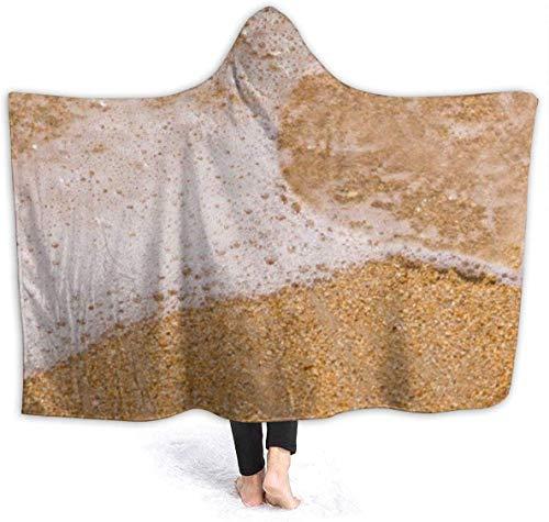 Dor675ser Hoodie Deken 40 x 52 Inch, Comfy Soft Hooded Deken, Volwassenen Mannen Vrouwen Kids Gooi Deken voor Bed Couch Bank, Super Warm Gooi Draagbare Knuffel Terug naar School Bus Travel Deken