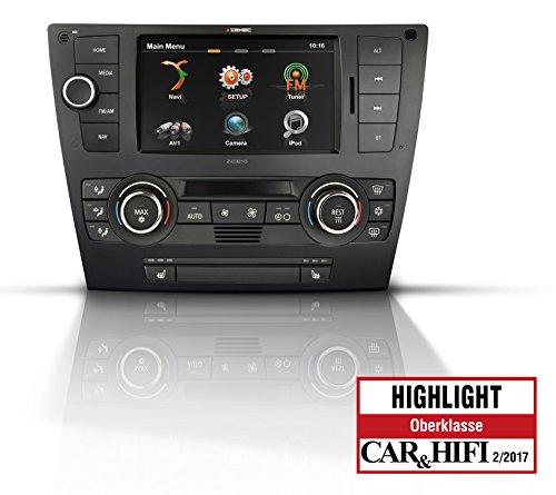 Z-E3215-MK2 Naviceiver für BMW 3er E90, E91, E92, E93 mit Karten von 47 EU-Ländern und 1 Jahr Kartengarantie
