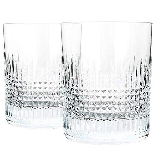[バカラ] ナンシー ぺアタンブラー クリスタルグラス コップ ロックグラス ウイスキーグラス おしゃれ 結婚祝い ギフト プレゼント 2811580 [並行輸入品]