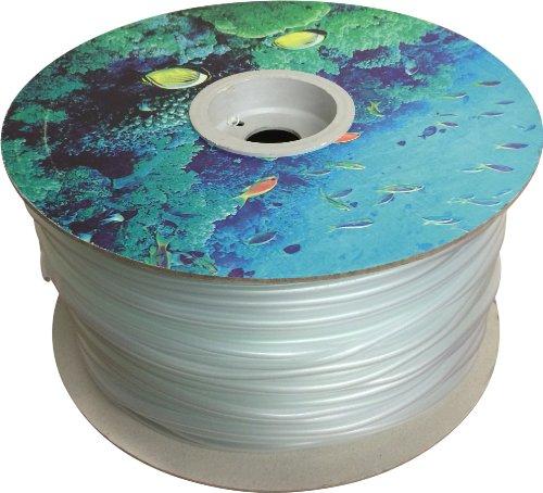 Finest-Filters Tuyau d'arrivé d'air pour Pompe à air d'aquarium et de Bassin 4/6 mm x 200 m