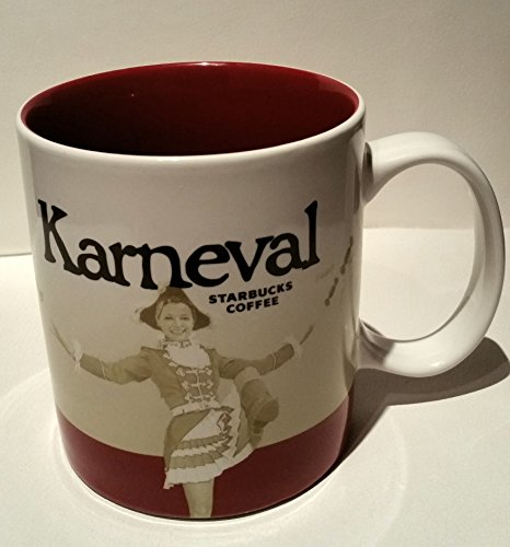 Starbucks City Mug Karneval 2015 Germany Coffee Cup Tasse Pott Kaffee
