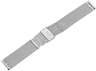 C-Pioneer Stainless Steel Mesh Wristwatch Bands Straps Watch Bracelets Repair Watch Band for Men and Women