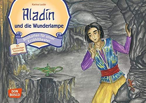 Aladin und die Wunderlampe: Bildkarten für unser Erzähltheater. Entdecken. Erzählen. Begreifen. Kamishibai Bildkartenset. (Märchen für unser Erzähltheater): Entdecken - Erzählen - Begreifen: Märchen.