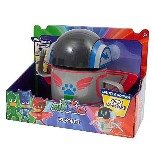 Giochi Preziosi PJ Masks PJ Robot con Luces, Sonidos y Movimientos