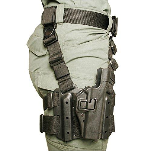 Blackhawk Étui Tactique SerPA Unisexe Niveau 2 Noir Taille 04-Beretta 92/96/M9/M9A1 (Non brigadier/Elite/92A1/96A1)