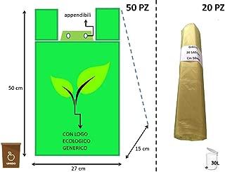 Deanyi Supporto per Sacchetto di Portasacchetto Pattumiera a rifiuti//rifiuti per casa