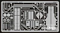 エデュアルド 1/35 LVT(A)4外装(イタレリ用) エッチングパーツ 35607