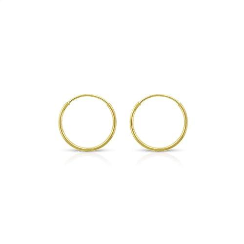 14 Karat Solid Gold Gold Dog Bone Stud Earrings Charm America