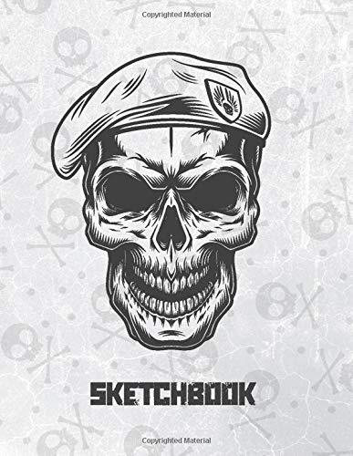 Sketchbook: X-Large Blank Sketching Notebook For Drawing Doodling Or W