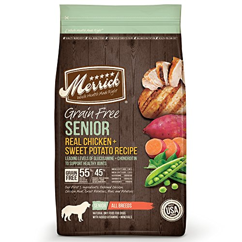 Merrick Grain Free Senior Dog Food