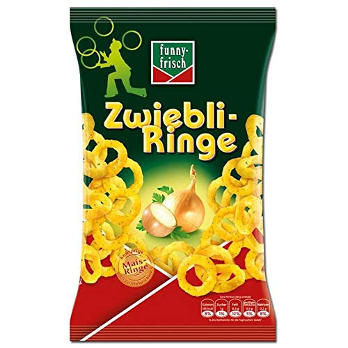 Funny-frisch - Onion Rings (Zwiebli-Ringe) | Total Weight 80 Grams