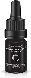 Transdermal Vitamin C Serum by Benjamin Knight Fuchs R.Ph. Truth Treatment Systems (5ML), Moisturizing & Hydrating Face Serum, Supports Collagen & Elastin Production, Anti-Aging