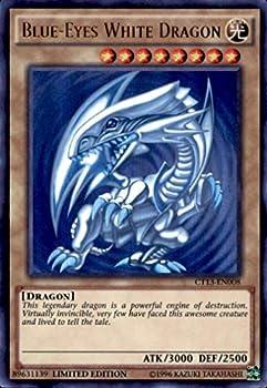 YU-GI-OH! - Blue-Eyes White Dragon  CT13-EN008  - 2016 Mega-Tins - Limited Edition - Ultra Rare
