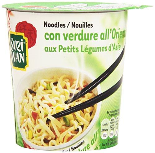 Suzi Wan - Noodles, con Verdure all'Orientale, 65 g