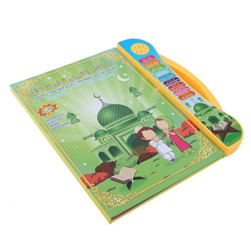 Sren Máquina de Aprendizaje Inglés/Tailandés/Chino, Interesante Juguete Educativo del Libro, Niños Niñas Portátil Libro de Sonidos para Niños Máquina de Lectura para Niños de 3 a 6 Años