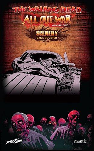 2 Tomatoes Games-The Walking Dead-Escenografía Coches, Barreras y Suministros, Multicolor (5060469660066)