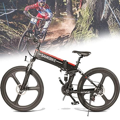 Bicicleta Eléctrica Plegable De 350/500W 26