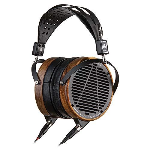 Audeze LCD-2 Über-Ohr | Öffnen zurück | Shedua Holz Ring Kopfhörer | Leder