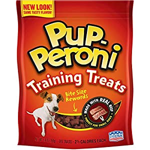 Pup-Peroni Original Training Treats – Beef Flavor Dog Snacks, 5.6-Ounce (Pack of 8)