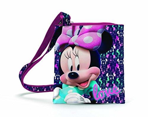 Minnie Disney D96026 Mc Borsa Sportiva per Bambini, 20 cm, Multicolore