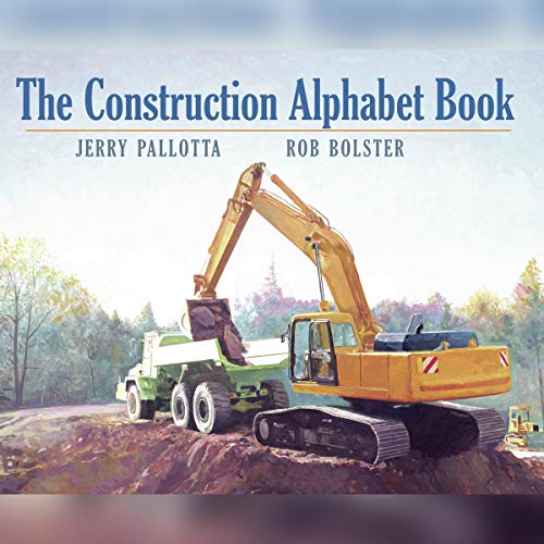 The Construction Alphabet Book audiobook cover art