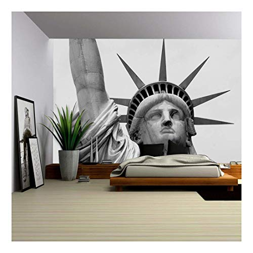 statue of liberty large wall mural