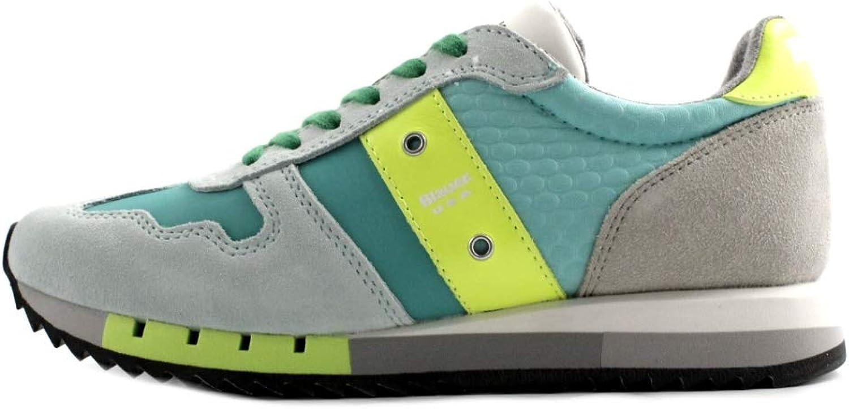 Blauer 38260, Damen Turnschuhe Grün grün