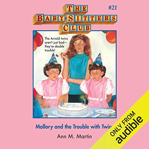 Mallory and the Trouble with Twins audiobook cover art