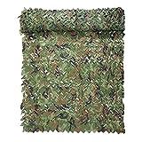 YANGUANG Red de Camuflaje Militar Persianas de Caza Red de Sombrilla del Ejército Ligero Impermeable para Camping, Caza, Tiro, Decoración de Jardín Al Aire Libre(Size:4×5M/13.1×16.4FT)