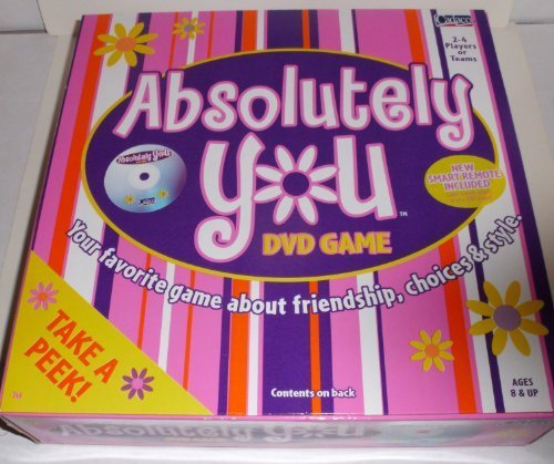 Absolutely You, Dvd Game, Your Favorite Game About Friendship, Choices & Style by Cadaco